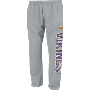 Vikings Kids (4 7) Grey Post Game Flece Pant
