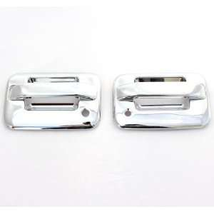 04 11 Ford F 150 (2 Doors) Chrome Door Handle Covers w/o keypad & with
