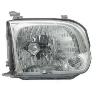 Toyota Tundra Double Cab Headlight Assembly Passenger Side