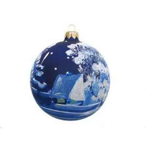 CHRISTMAS TREE ORNAMENT. House in the Country Ball