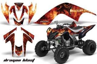 YAMAHA RAPTOR 700 GRAPHICS KIT DECALS STICKERS DB