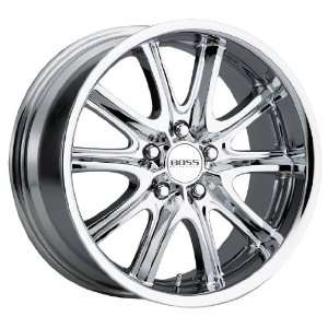 Boss Motorsports 336 Chrome Wheel (20x8.5/5x4.5) Automotive
