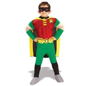 Lets Party By Rubies Costumes Teen Titans DC Comics Robin Muscle Chest