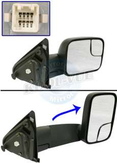 New Dodge Power Tow Mirror 2003 2004 2005 Heated