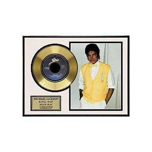 Michael Jackson Billie Jean Framed Gold Record Toys