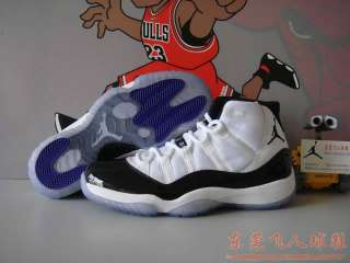 Nike AIR JORDAN 11 Basketball Man Shoes Retro Concord Black & White