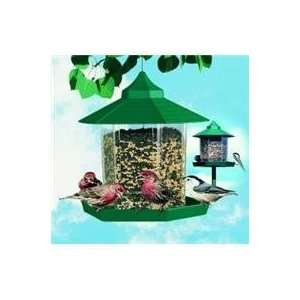 WILD BIRD FEEDER, Color GREEN (Catalog Category Wild BirdWILD BIRD