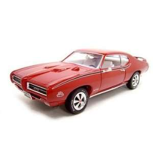 1969 PONTIAC GTO JUDGE RED 118 ERTL DIECAST MODEL