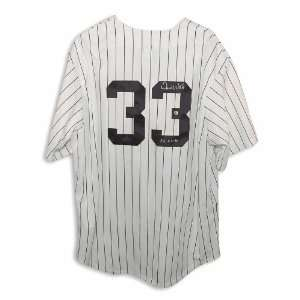 David Wells Autographed New York Yankees Pinstripe Majestic Jersey