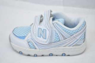 NEW BALANCE KV516CBI 516 (BUB) INFANT/TODDLER BLUE/WHITE/GREY VELCRO