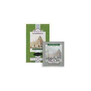 Ahmad Tea Green Earl Grey Foil Tea Bag (Economy Case Pack) 20 Ct Box