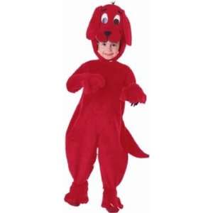 Clifford the Big Red Dog Costume (Size Small 4 6) Toys & Games