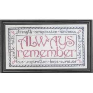 Always Remember (cross stitch) Arts, Crafts & Sewing
