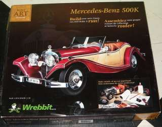 WREBBIT PUZZLE MERCEDES BENZ 500K CAR Built Art NEW in Box