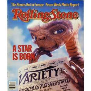 Rolling Stone Magazine Vol. 374, July 22, 1982, Movie Print by Aaron