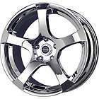 New 17X7 5x100 LIQUID METAL Static Chrome Wheels/Rims