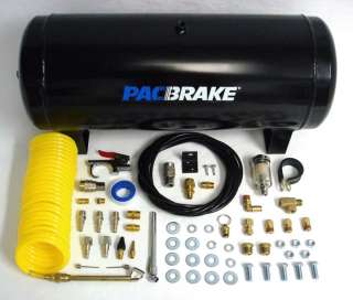 Pacbrake Air Spring Suspension Bags In Cab Controls Kit