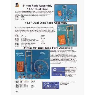 Fork Kit W/21 Wheel  Dual Disc Automotive