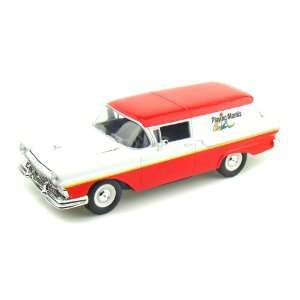 1957 Ford Courier Sedan Delivery 1/24 Red / White Toys