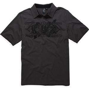 Fox Racing Vahalla Polo   2X Large/Charcoal Automotive
