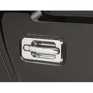Hummer H2 Triple Chrome Plated Door Handle Covers (Fits 2003 2005 SUV
