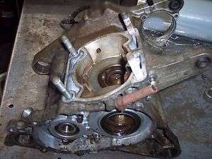 1985 HONDA ODYSSEY ATV FL350 FL 350 FL350R ENGINE MOTOR CASES BOTTEM