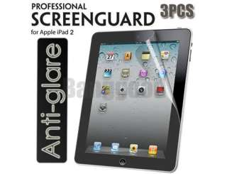 3x Matte Anti Glare Screen Protector Film Shield Skin Guard For ipad 2
