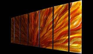 Modern Metal Abstract wall Art Painting Sculpture Decor