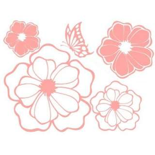 GP 12 BLOSSOM Vinyl Graphic Wall Art Deco Decal Sticker