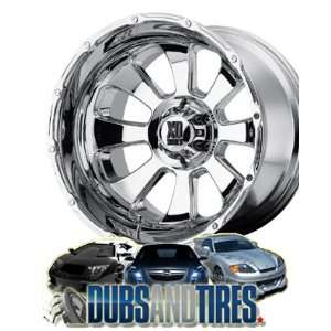 20 Inch 20x12 KMC XD SERIES wheels ARMOUR Chrome wheels