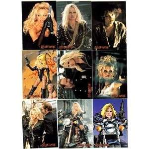 Barb Wire Pamela Sue Anderson Movie Trading Card Set 1996