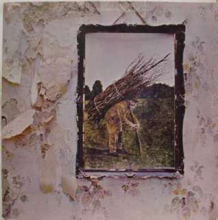 led zeppelin iv 4 zoso label atlantic records format lp stereo 33 12