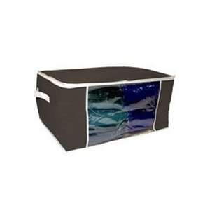 Dorm Bedding Storage Box   Black or Cream