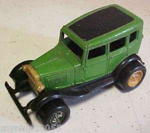 Tootsie Toy Green Ford Model A Touring Sedan