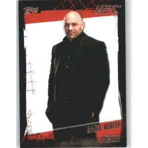 2010 Topps UFC Trading Card # 167 Dana White (Ultimate