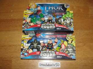 Marvel Super Hero Squad Thor Destroyer Odin Loki Movie