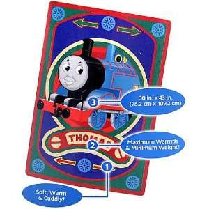 Thomas and Friends 30 X 43 Ultra Soft Plush Blanket