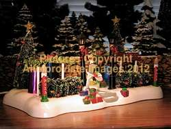 Snow Village Dept 56 CHRISTMAS FRONT YARD 53318 MiNT
