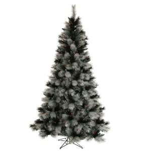 Pre Lit Black Ash Christmas Tree