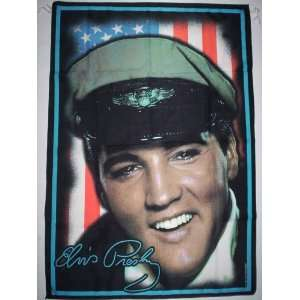 ELVIS PRESLEY 5x3 Feet Cloth Textile Fabric Poster