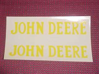 JOHN DEERE HIT MISS GAS ENGINE MOTOR DECAL