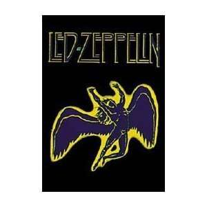 Led Zeppelin Swan Song Fabric Poster Wall Hanging