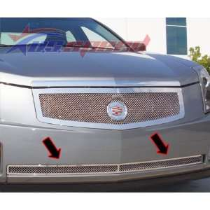 2003 07 Cadillac CTS Chrome Wire Mesh Grille Lower Automotive