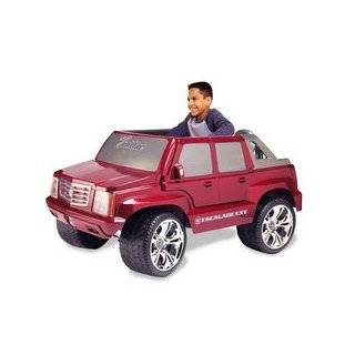price power wheels burgundy cadillac escalade by fisher price average