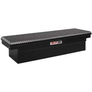 Pro PAC1587002 Black Compact Aluminum Single Lid Crossover Truck Box