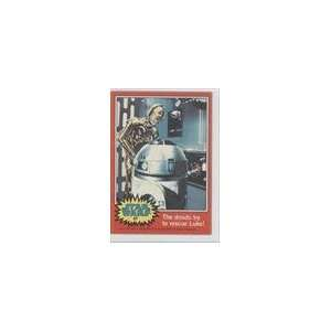 1977 Star Wars (Trading Card) #87   The droids try to
