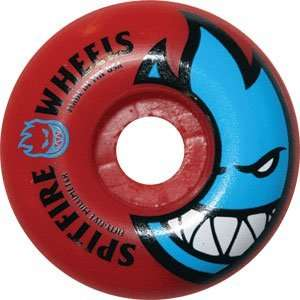 Spitfire Bighead 55mm   Red Skateboard Wheels (Set Of 4
