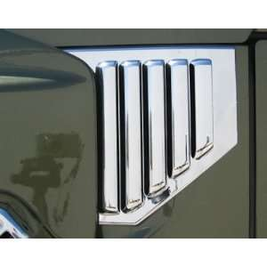 Putco 403408 Hummer H2 Chrome Side Hood Vents   Without