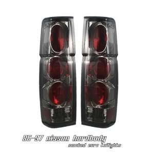 97 NISSAN HARDBODY PICKUP SMOKE HOUSING ALTEZZA TAIL LIGHT LAMP PAIR