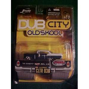 1955 Chevy Bel Air Dub City Old Skool Diecast Toys